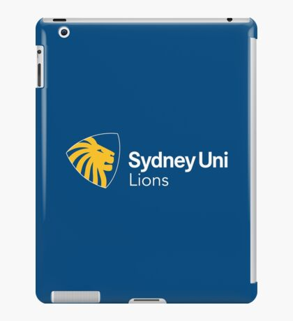 Sydney Uni Lions branded items iPad Case/Skin