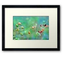 she always camouflaged herself as a crowd. i've never been lonely, she said, but sometimes it's hard to think above the noise... Framed Print