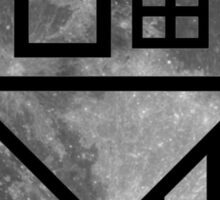 The NBHD - Moon Print Sticker