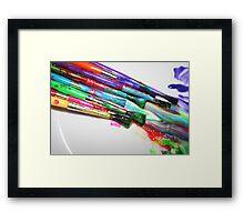 Rainbow of Colour Framed Print