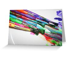 Rainbow of Colour Greeting Card