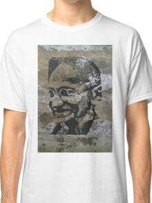 Gandhi on bark Classic T-Shirt