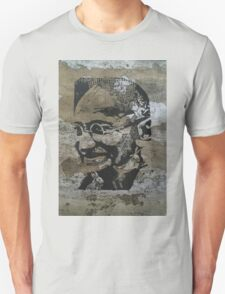 Gandhi on bark T-Shirt
