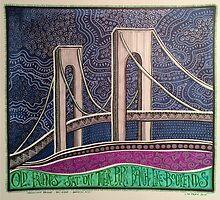 Verrazano Bridge, Bay Ridge, Brooklyn, New York by Shelarry66
