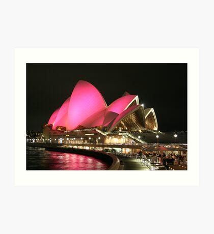 Pink Sails Art Print