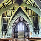 Rafters of St.Pauls Anglican by Larry Lingard-Davis