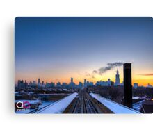 Ashland Train Stop  Canvas Print