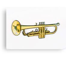 Trumpet Canvas Print