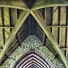 Magnifying the Rafters at St.Pauls by Larry Lingard-Davis