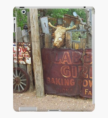 Route 66 Artifacts iPad Case/Skin