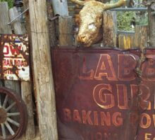 Route 66 Artifacts Sticker