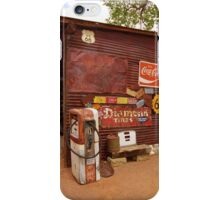 Route 66 Garage and Pump iPhone Case/Skin