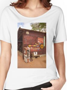 Route 66 Garage and Pump Women's Relaxed Fit T-Shirt