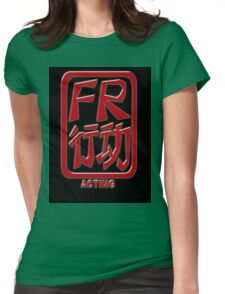 Francesca Risso Chop T-Shirt Womens Fitted T-Shirt
