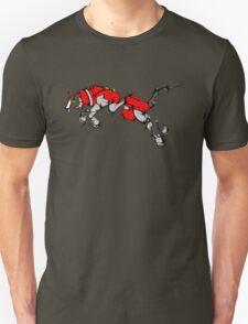 Red Voltron Lion Cubist Unisex T-Shirt