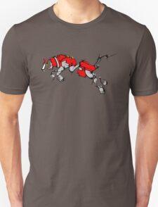Red Voltron Lion Cubist T-Shirt