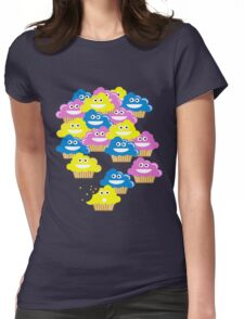 Cupcake Overload! Womens Fitted T-Shirt