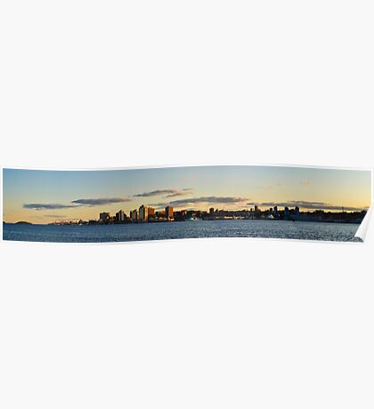 Halifax from Dartmouth Poster