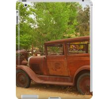Route 66 Vintage Auto iPad Case/Skin