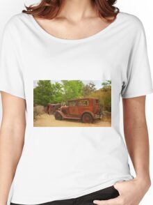 Route 66 Vintage Auto Women's Relaxed Fit T-Shirt