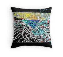 Bloodless Ethics Throw Pillow