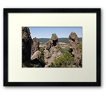 They spoke with great wisdom and humility Framed Print