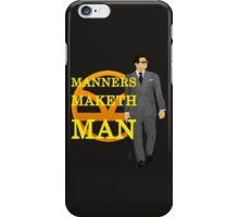 Manners Maketh Kingsman iPhone Case/Skin