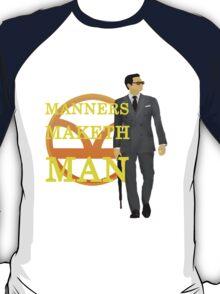 Manners Maketh Kingsman T-Shirt
