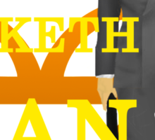 Manners Maketh Kingsman Sticker