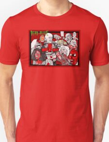 dead alive horror art character collage T-Shirt