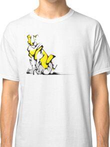 Yellow Voltron Lion Cubist Classic T-Shirt