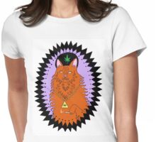 wavves cat Womens Fitted T-Shirt