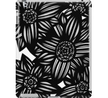 Oblivion Flowers Blue Yellow White iPad Case/Skin