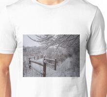 Pathways in the Snow Unisex T-Shirt