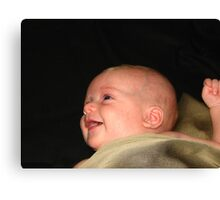 Mommy....you're funny!! Canvas Print