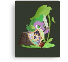 Legend of Celestia: Spike's Adventure Canvas Print
