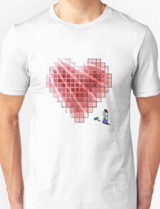 Minecraft Heart T-Shirt