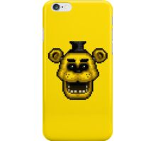Five Nights at Freddy's 1 - Pixel art - Golden Freddy iPhone Case/Skin