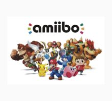 Amiibo Super Smash Bros One Piece - Short Sleeve