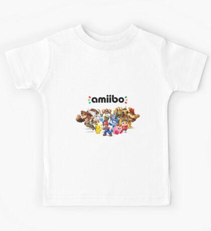 Amiibo Super Smash Bros Kids Tee
