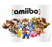 Amiibo Super Smash Bros Poster