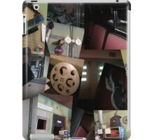 Trashed Theater Collage iPad Case/Skin