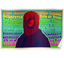 """Psychedelic """"Poster"""" - Available in variety of Products Poster"""
