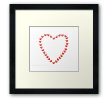 Heart of Hearts Framed Print