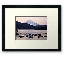 Lonely after Dark (Japan) Framed Print