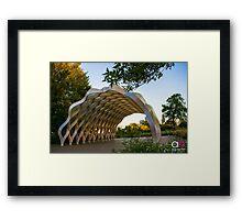 Nature Boardwalk Framed Print