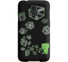 Creeper bubbles Samsung Galaxy Case/Skin