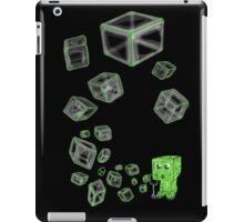 Creeper bubbles iPad Case/Skin