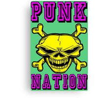 PUNK NATION Canvas Print
