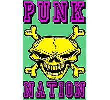 PUNK NATION Photographic Print